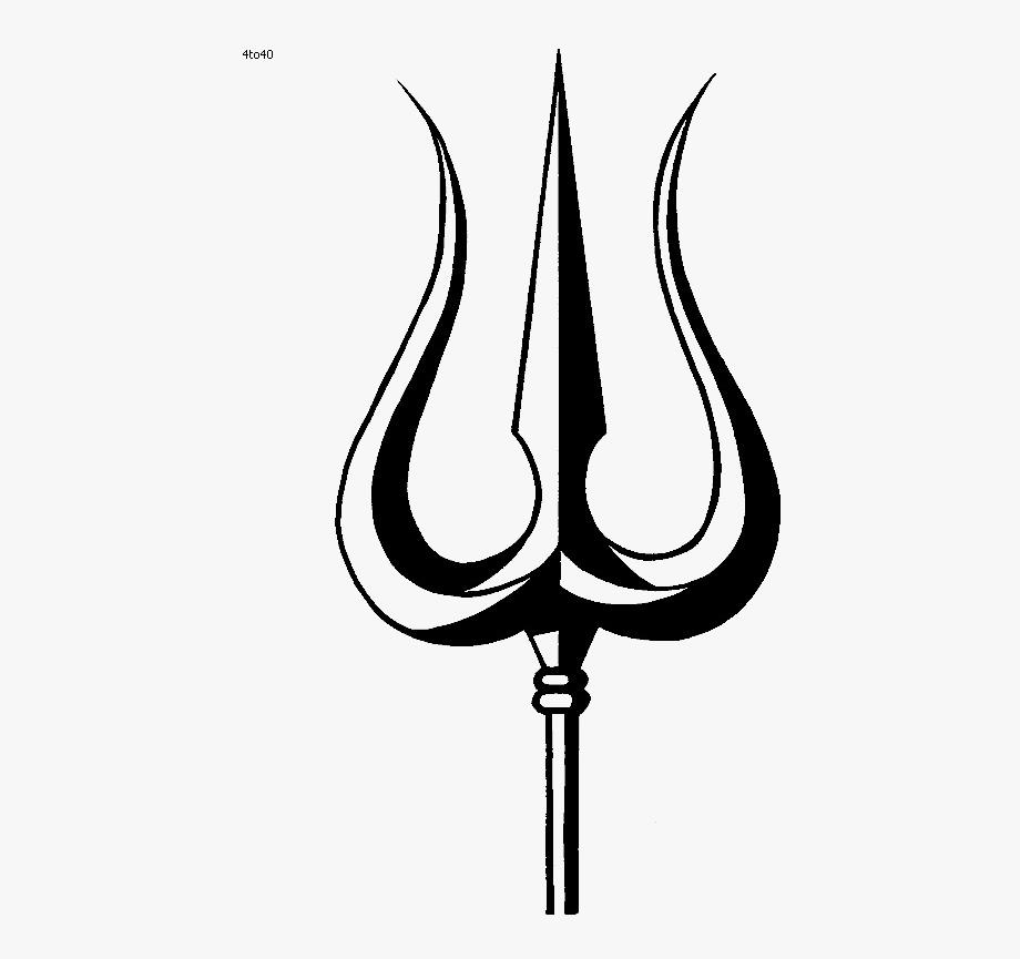 Symbol Hinduism Trishula Shiva Om Hq Image Free Png.