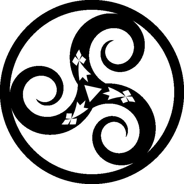 Triskel Clip Art at Clker.com.