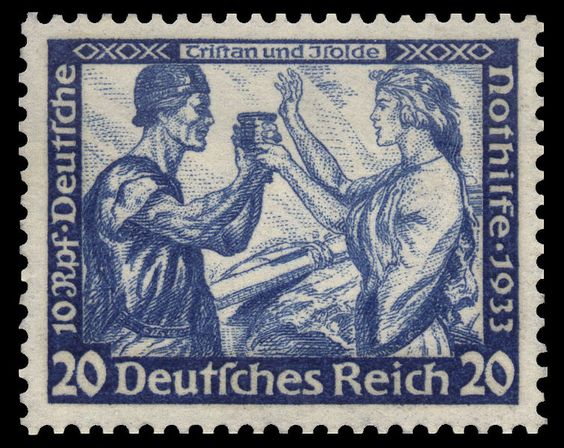 Tristan und isolde and Stamps on Pinterest.