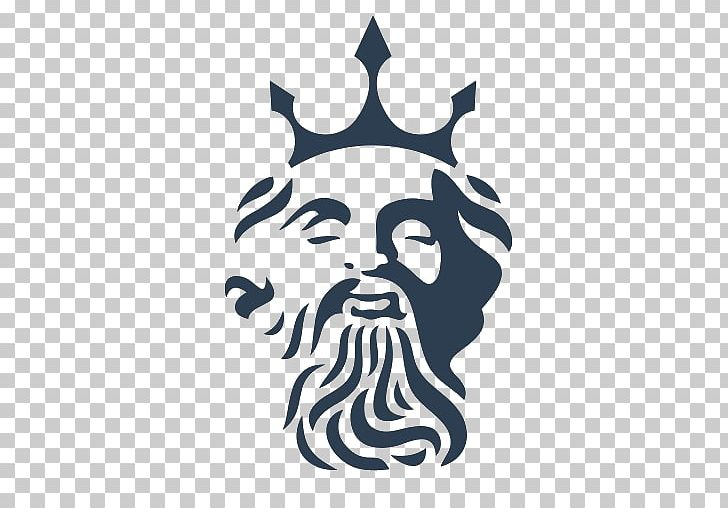 Poseidon Logo Triton PNG, Clipart, Apk, App, Art, Black And.