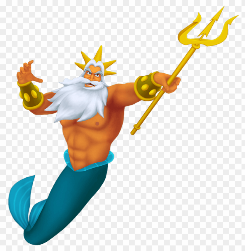 Download king triton transparent clipart png photo.