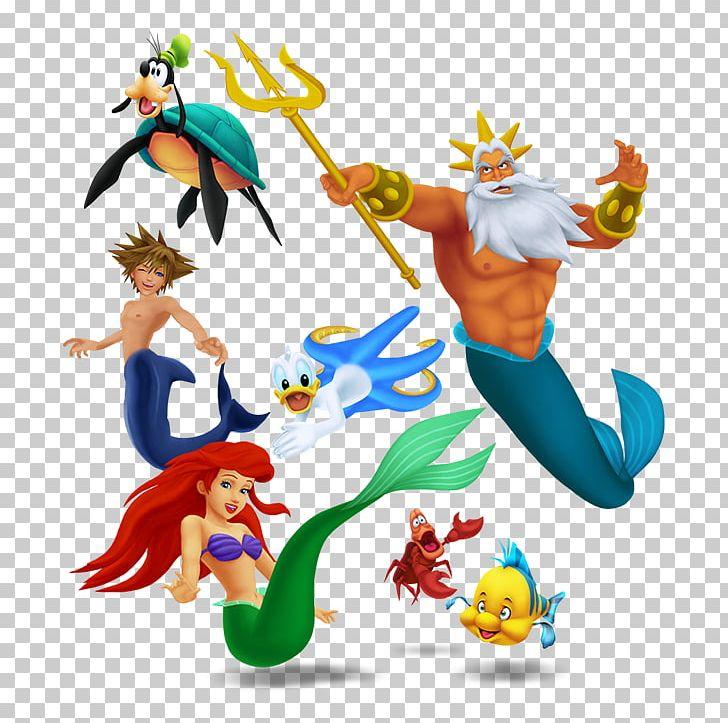 Kingdom Hearts Greek Mythology King Triton The Walt Disney.