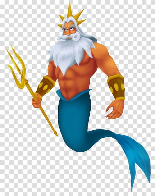King Triton Ariel Poseidon Ursula Queen Athena, Mermaid.