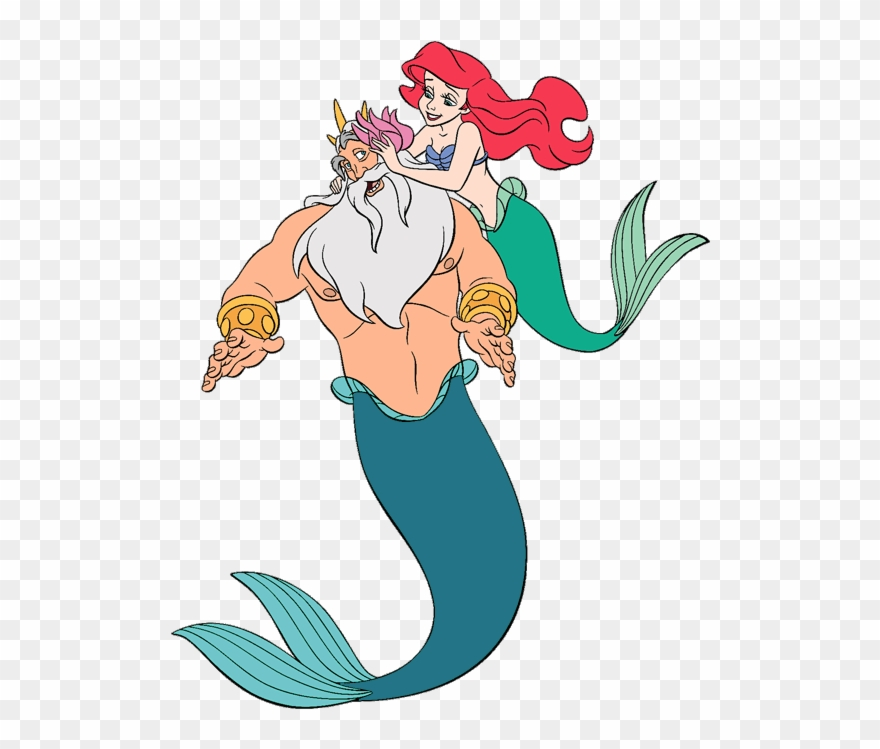King Triton And Ariel S Sisters Clip Art 2 Disney Clip.
