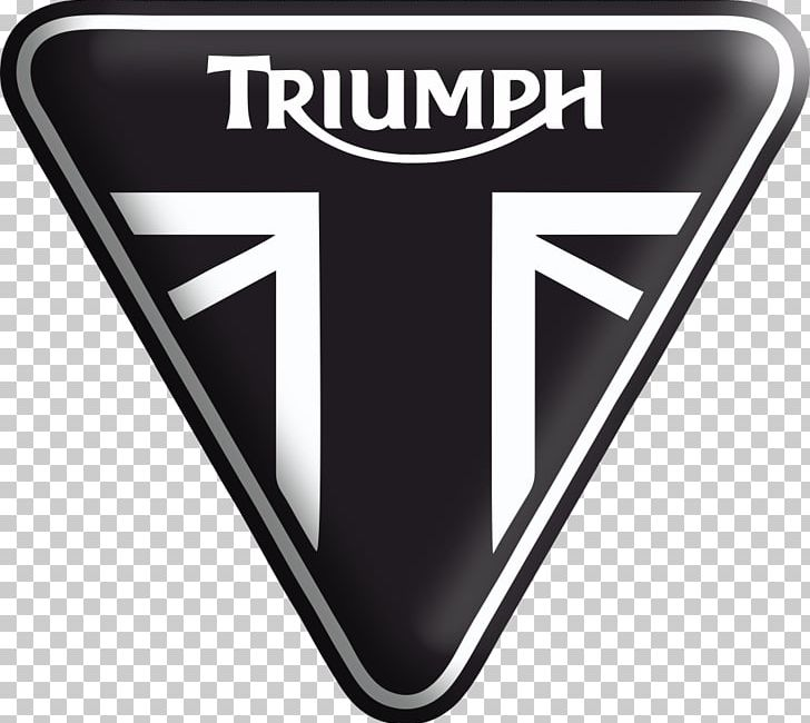 Triumph Motorcycles Ltd Logo Brand Sticker Trademark PNG.