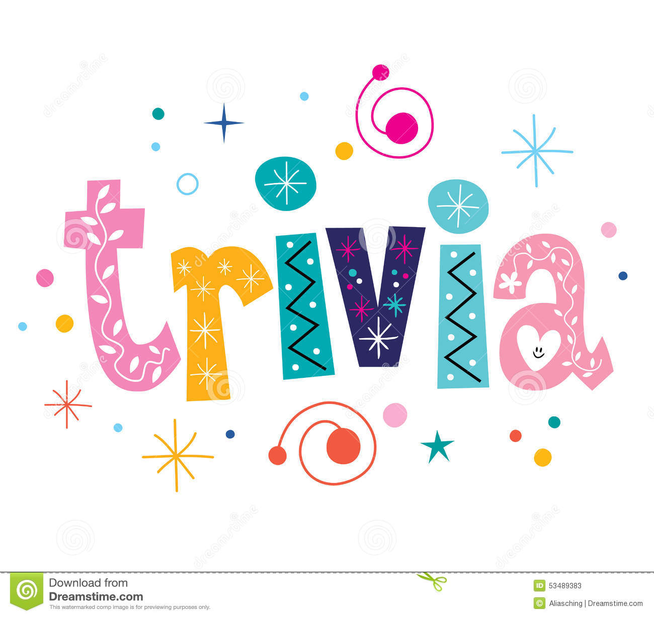 Trivia Clipart Group with 73+ items.