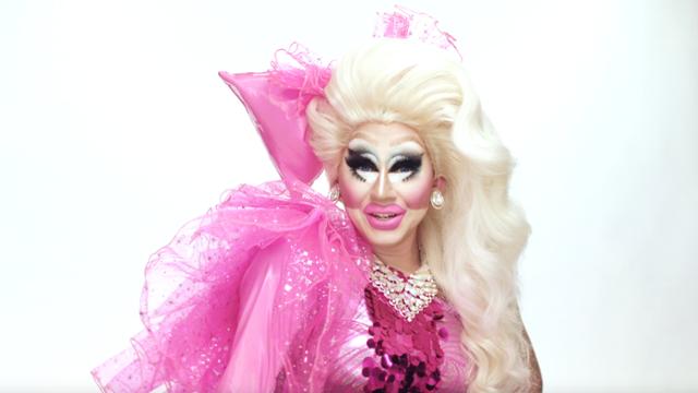 Get The Bubblegum Plastic Fantasy Look In Trixie Mattel\'s.