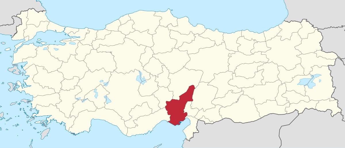 Adana Province.