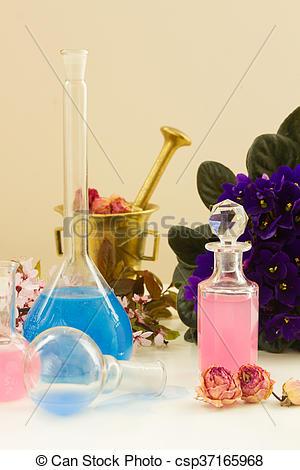 Stock Bild von trocken, aromatherapy, blumen, Tränke,.