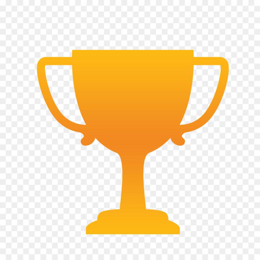 Troféu, Silhueta, Prêmio png transparente grátis.
