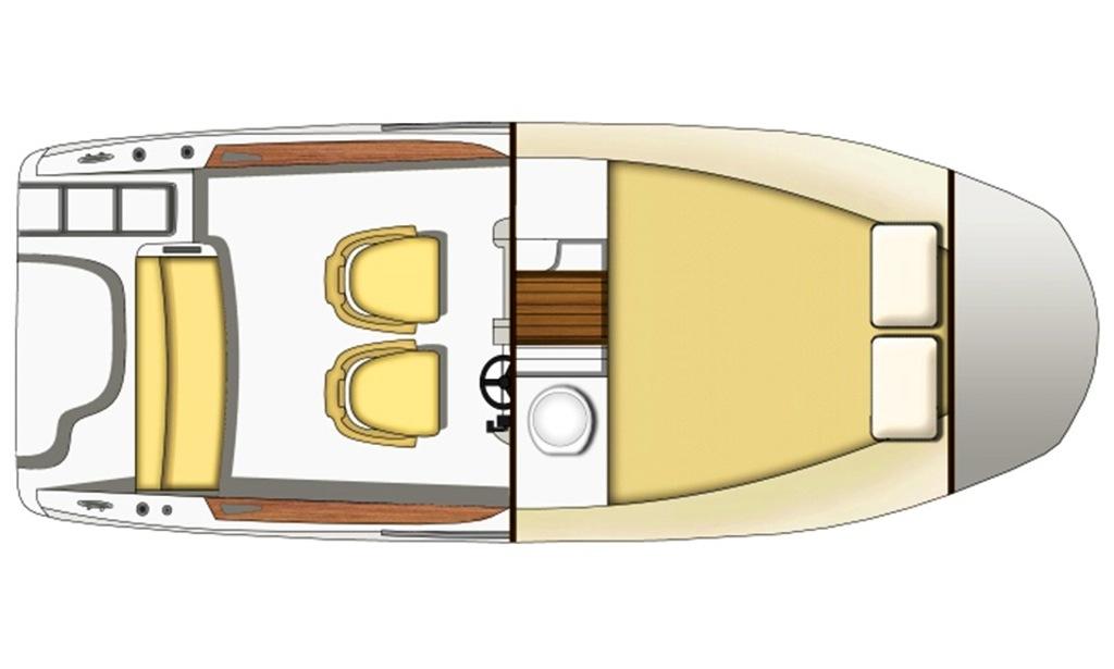 Sessa Key Largo 20 Boat Rental in Trogir.