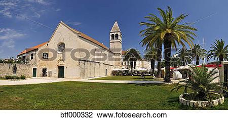 Stock Photo of Croatia, Trogir, Dominican Friary btf000332.