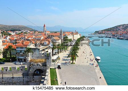 Stock Image of Trogir, Croatia k15475485.