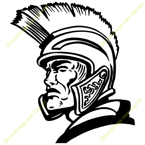 Trojan Head Clipart.