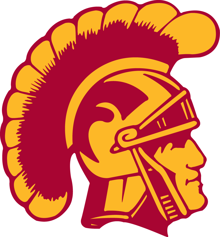 Southern California Trojans Primary Logo (1972).