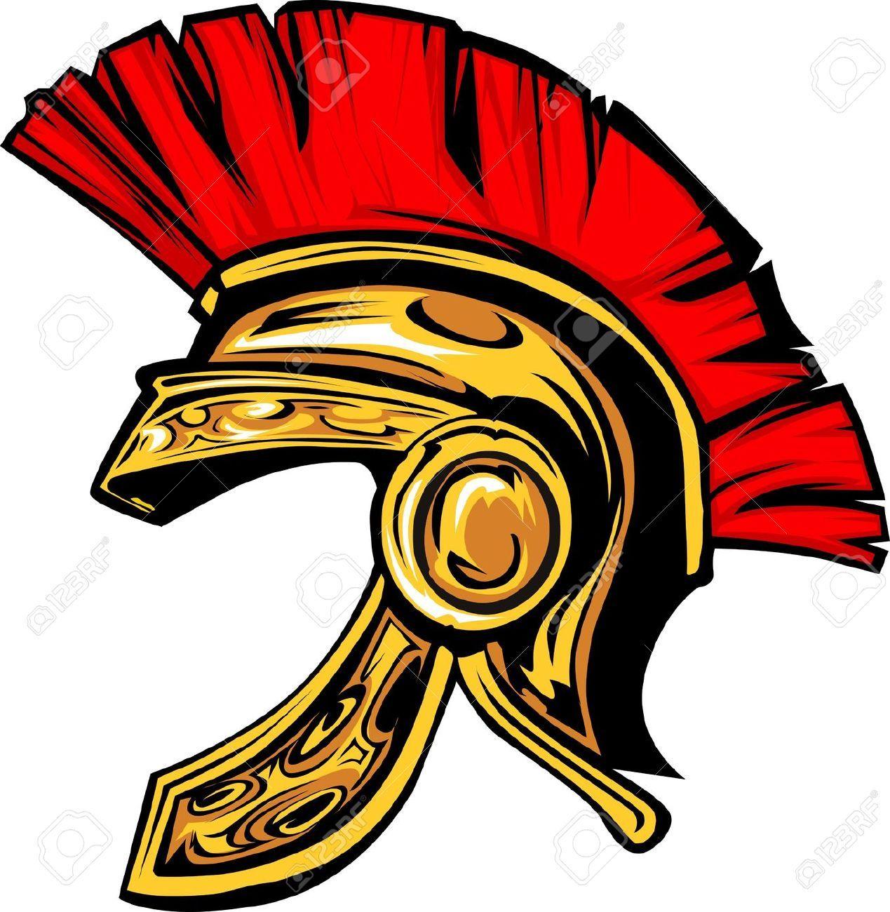 trojan warrior cartoon.
