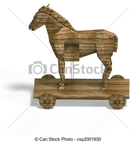 Trojan horse Stock Illustrations. 856 Trojan horse clip art images.