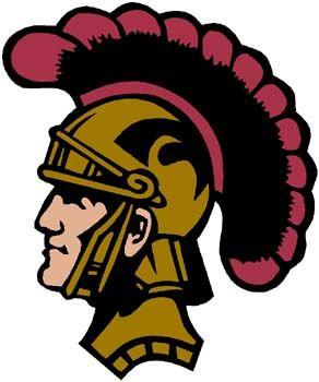 Trojan Mascot Art.