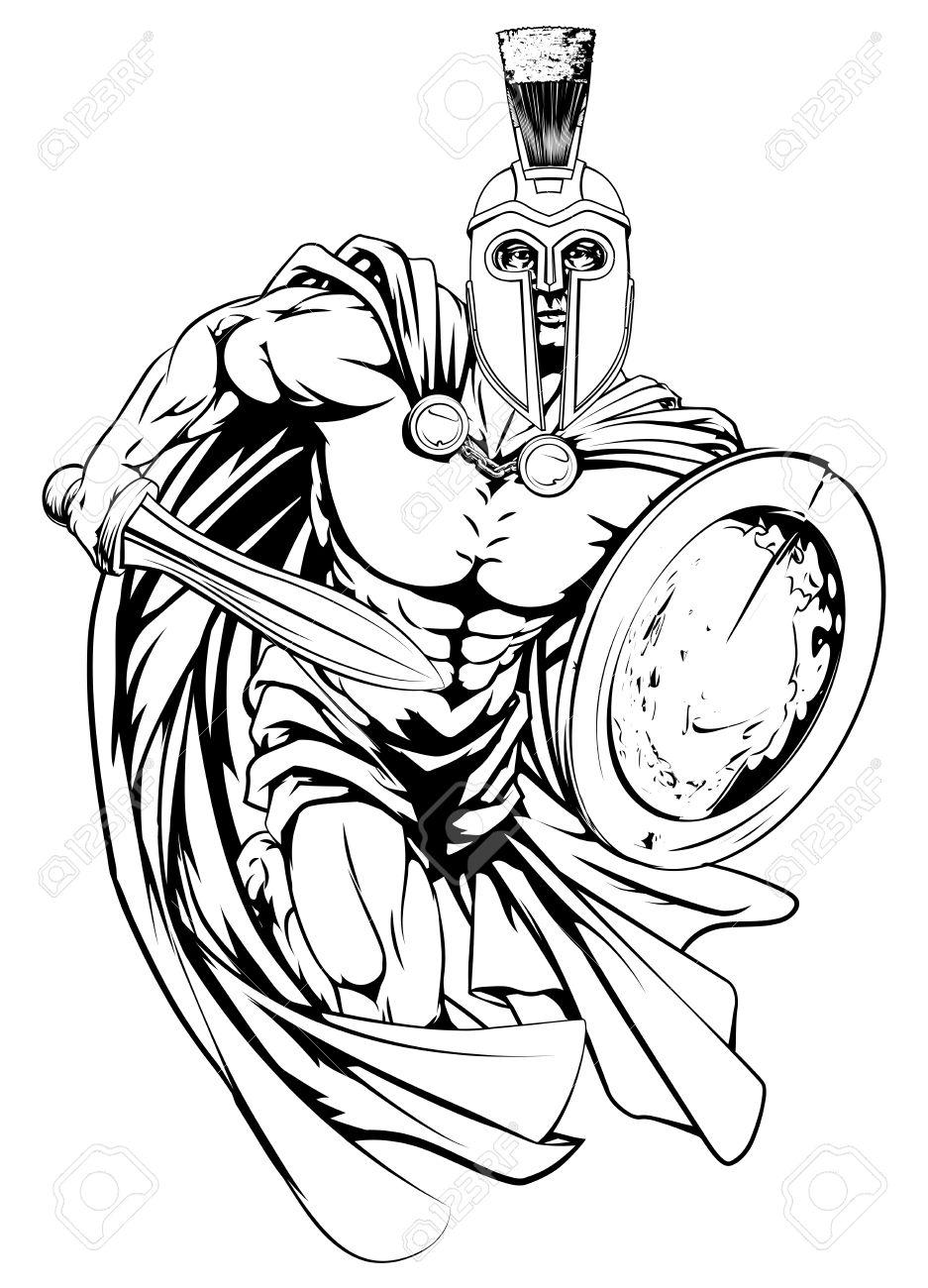 Trojan Sword Clipart.