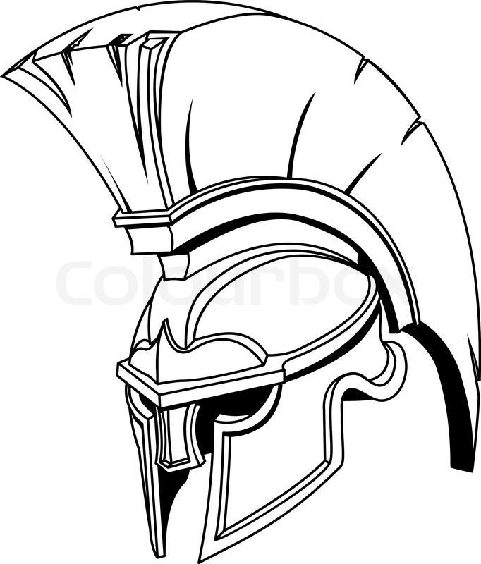 An illustration of Spartan roman greek.