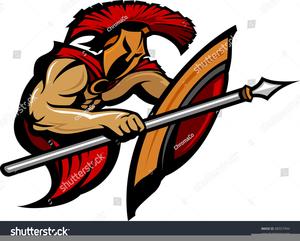 Trojan Soldier Clipart.