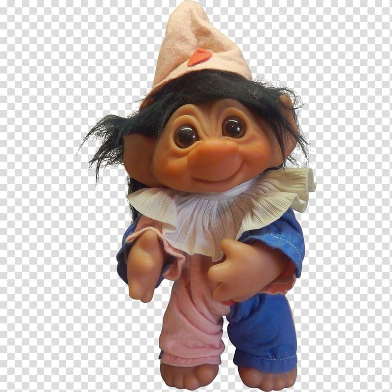Troll doll Toy Trolls, clown transparent background PNG.