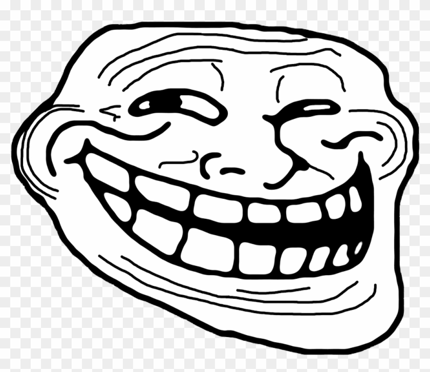 Trollface Transparent Background For Free Download.