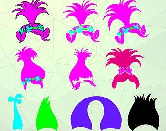 Troll hair clipart 3 » Clipart Station.
