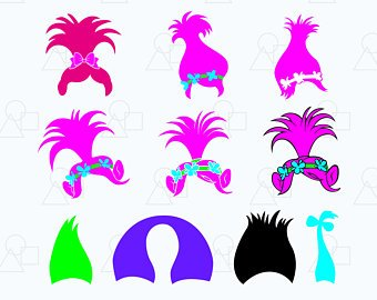 Troll Hair Clipart (93+ images in Collection) Page 1.