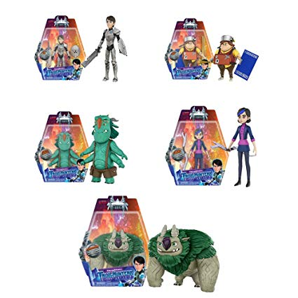 Amazon.com: Trollhunters Jim, Toby, Blinky, Argh, Claire 3 3.