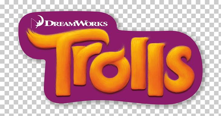 Logo película trolls Dreamworks animación, rama de trolls.
