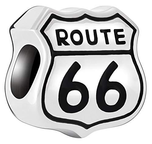 Amazon.com: Chamilia Authentic Route 66 Sterling Silver.