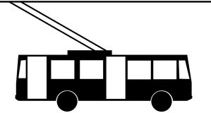 Trolleybus Clipart by Megapixl.
