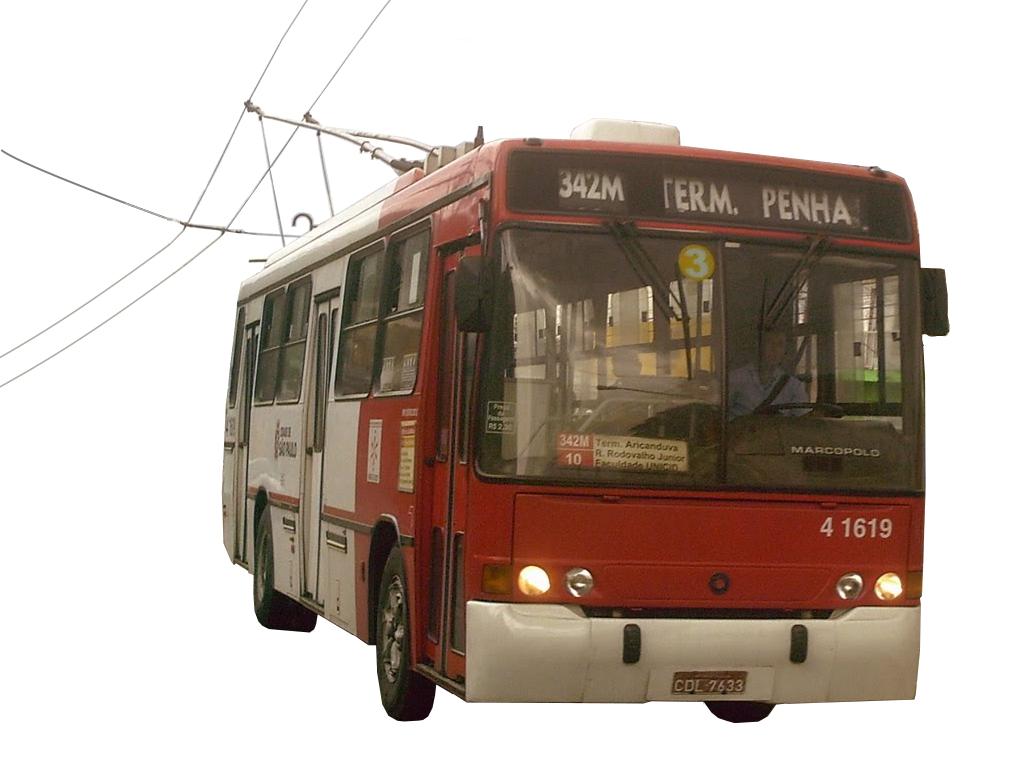 Sao Paulo Trolleybus.