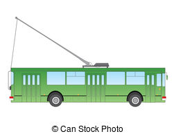 Trolley bus Vector Clip Art EPS Images. 329 Trolley bus clipart.