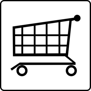 Free Shopping Cart Clipart Black And White, Download Free.
