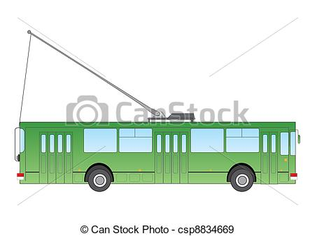 Trolley Bus Clipart.