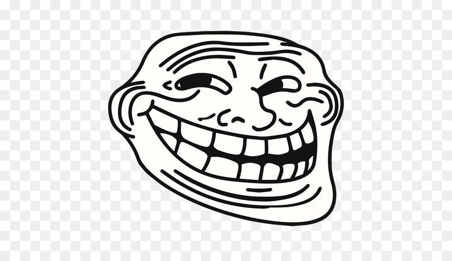 Troll face clipart 1 » Clipart Station.