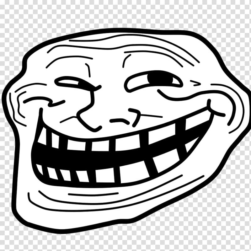 Trollface Internet troll Rage comic, trolls transparent.