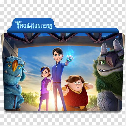 Trollhunters Folder Icon, Troll Hunters folder icon.