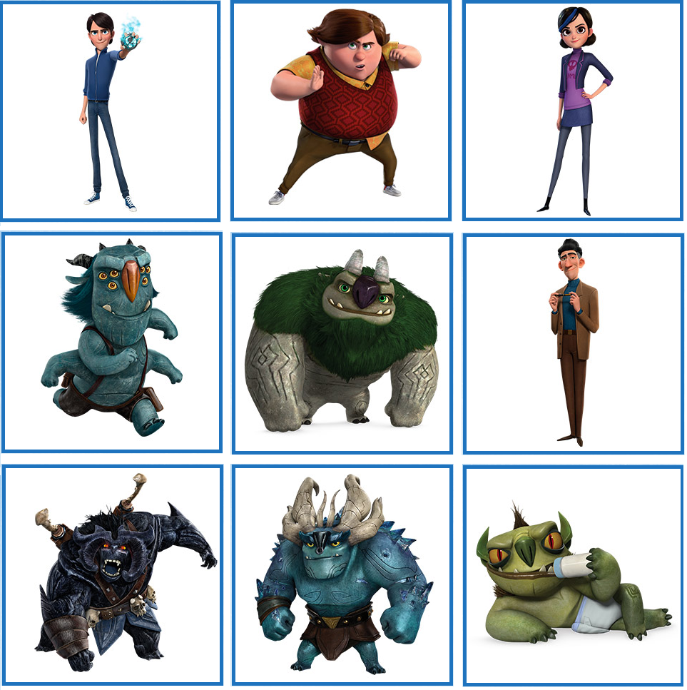 Pin on Trollhunters Printables.