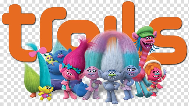 Trolls Film English, others transparent background PNG.