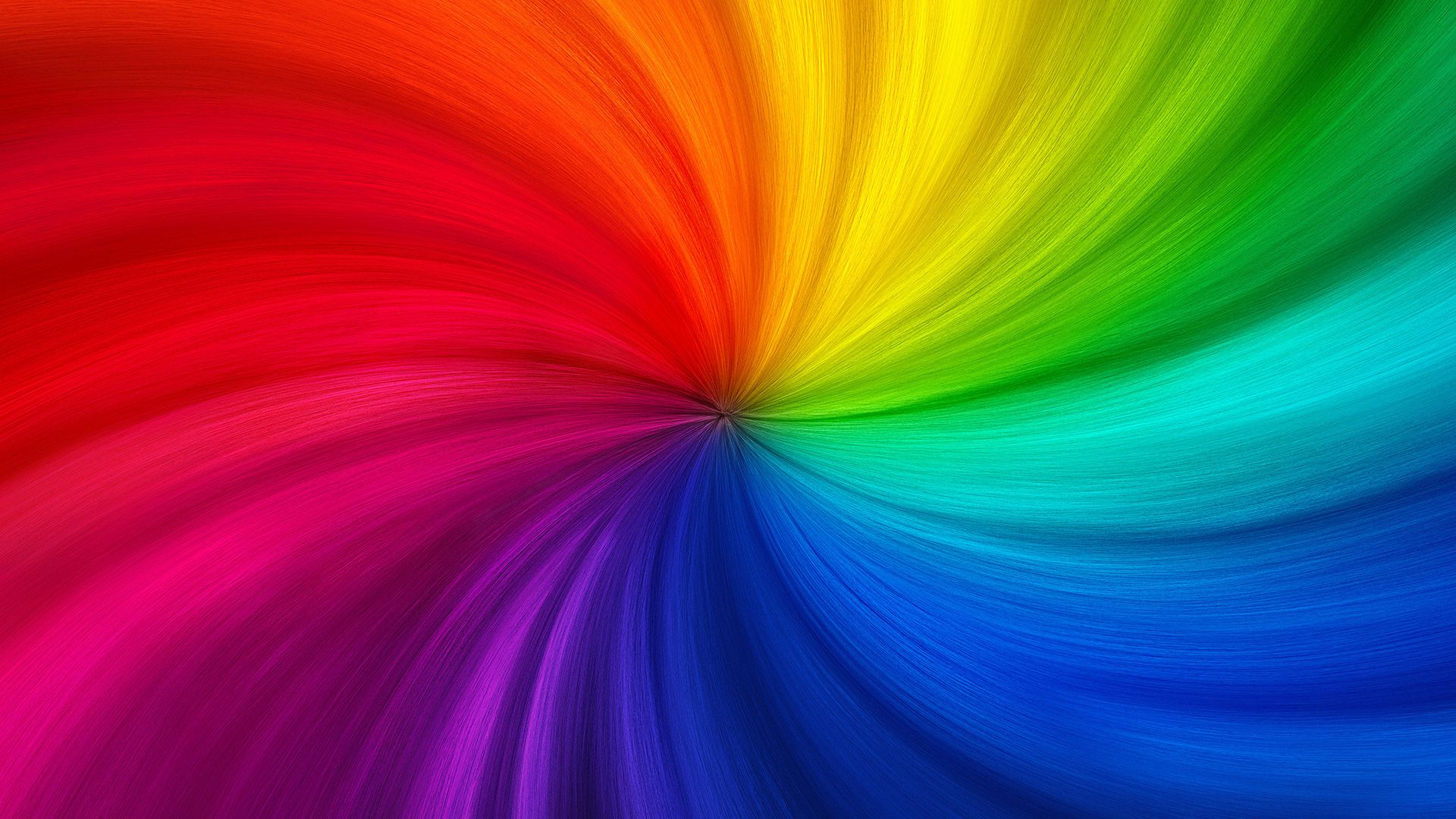Trolls Rainbow Background.