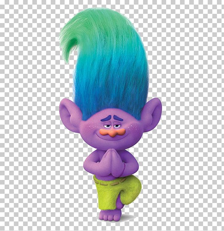 Guy Diamond Biggie King Peppy Trolls, others, blue haired.