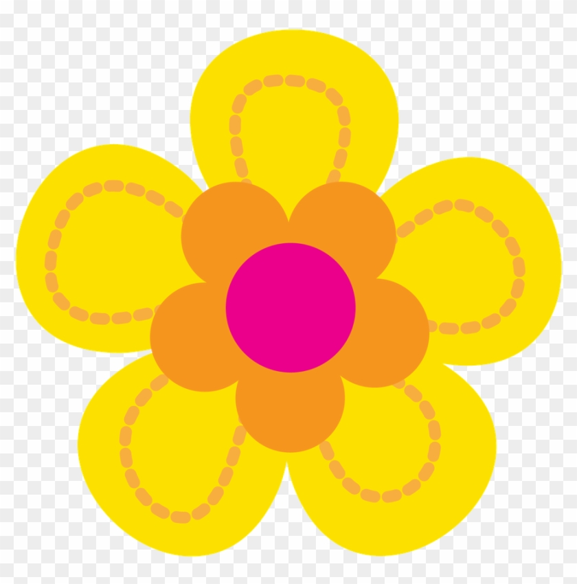 Troll Clipart Flower.