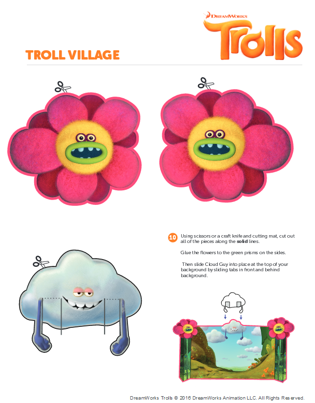 Pin on Trolls Printables.