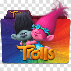 Trolls 2 transparent background PNG cliparts free download.
