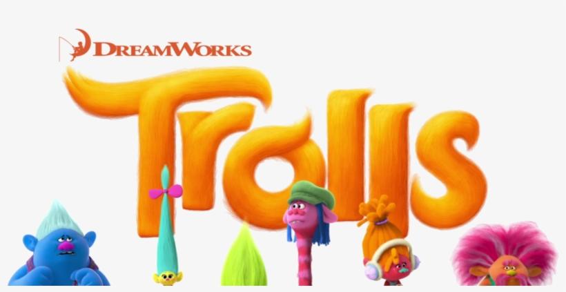 Trolls Movie Logo Png PNG Image.