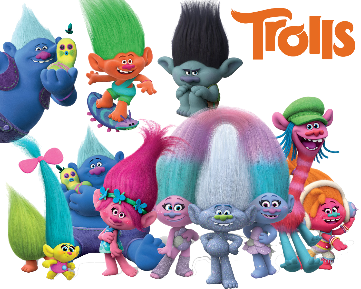 Trolls Png Best Collection.
