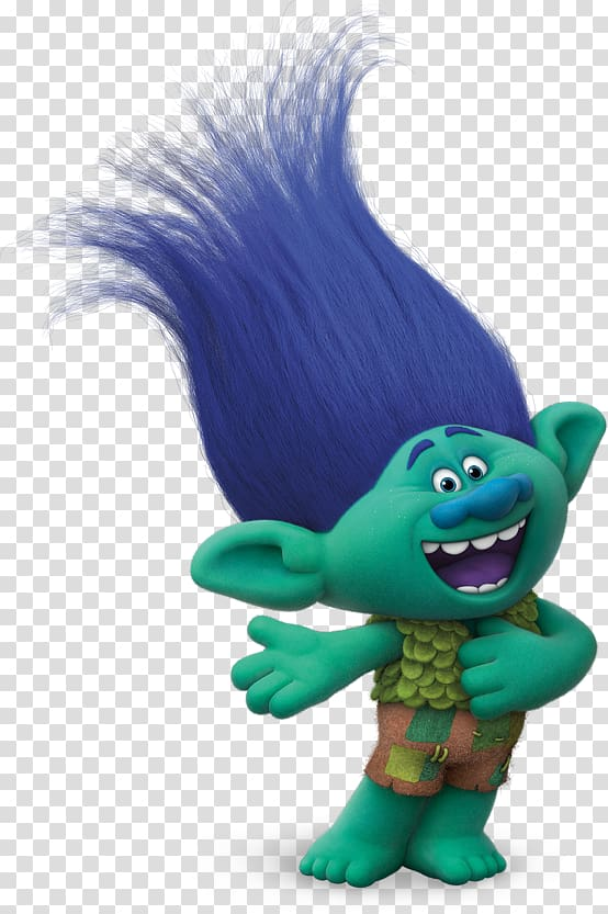 Dreamworks Trolls character illustration, Trolls YouTube.